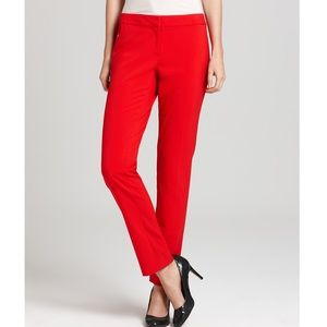 Vince Camuto Red 🍒 Dress Pants Size 4